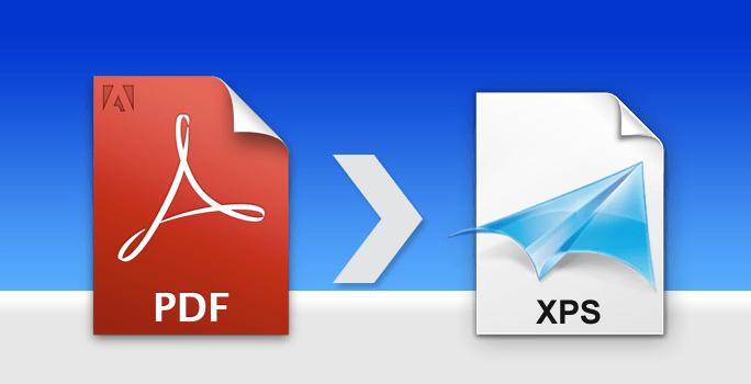 Автоматическая конвертация документов PDF в формат XPS